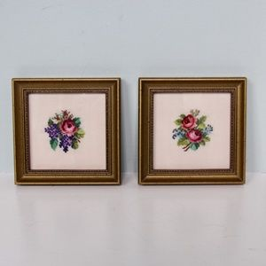 Other - Professionally Framed Small Cross Stitch Pieces
